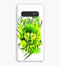 Beautiful Alpha Bad Boy/Girl Green Case/Skin for Samsung Galaxy