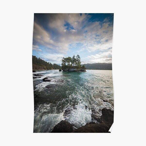 Secret Island - Veleda Thorsson Photography Poster