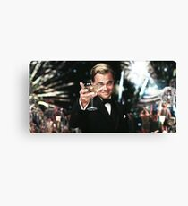 Great Gatsby Poster Canvas Print