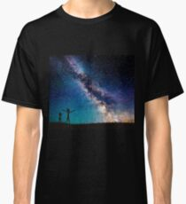 Rick and Morty Galaxy Blue Classic T-Shirt