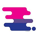 Bisexual Pride Flag by biancadesigns