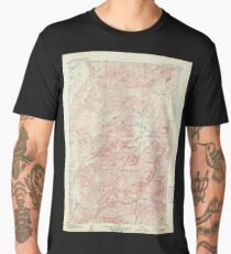 USGS TOPO Map Idaho ID Garden Valley 239502 1909 125000 Men's Premium T-Shirt