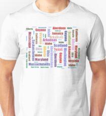 Aberdeen Locations Worldwide Unisex T-Shirt