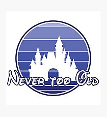 Never too old 90's style Photographic Print