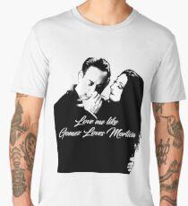 love me like gomez loves morticia Men's Premium T-Shirt