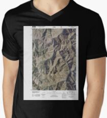 USGS TOPO Map Idaho ID Sliderock Ridge 20110114 TM T-Shirt