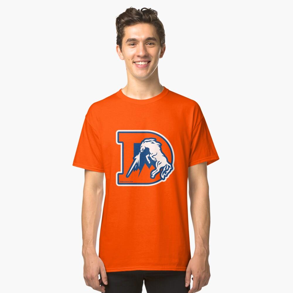 The Denver D Classic T-Shirt Front