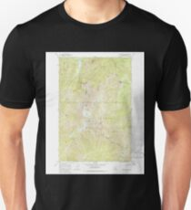 USGS TOPO Map Idaho ID Gardiner Peak 236182 1966 24000 T-Shirt