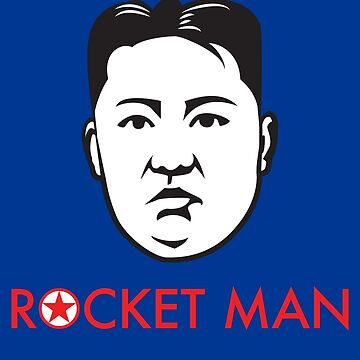 """Rocket Man"" Kim Jong-un by anthonymzubia"