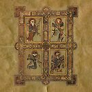Book of Kells - Vier Evangelisten von KATIUSKA