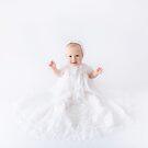 Sophia ~ 9 months by Elaine Harriott