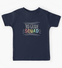 Gifts for Team 3rd Grade Teacher T Shirt Teacher Apparel Kids Clothes