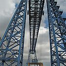 Middlesbroughs' World famous Transporter Bridge by dougie1