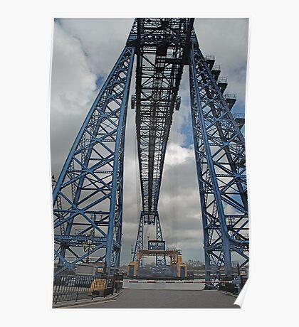 Middlesbroughs' World famous Transporter Bridge Poster