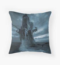 The Flying Dutchman phantom Throw Pillow