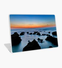 stubborn rocks in water Photographed in the Mediterranean Sea, Israel  Laptop Skin