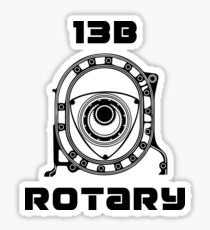 MAZDA 13B ROTARY ENGINE Sticker