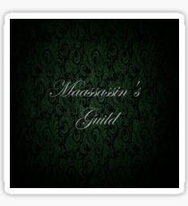 Maassassin's Guild Sticker