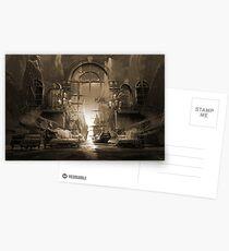 Mindscape or virtual reality dreamscape Postcards