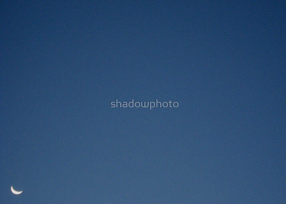 Moon, 08.28.08 05:53am 42.03 N 87.90 W by shadowphoto