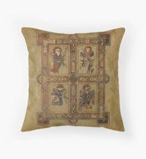 Book of Kells - Four Evangelists Throw Pillow