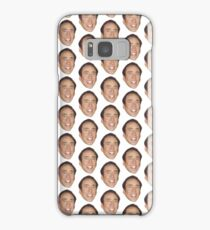 Nicolas Cage Face Pattern Design Samsung Galaxy Case/Skin