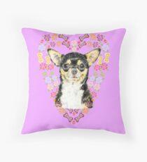 Chihuahua - ever popular! Throw Pillow