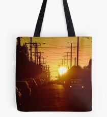C00 – Brunswick sunrise Tote Bag