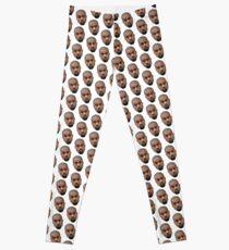 Kanye Face Pattern Leggings