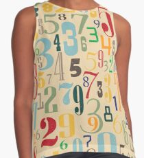 Retro Numbers Contrast Tank