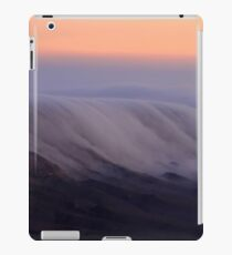Israel, Negev Desert, fog at Mitzpe Ramon at dawn  iPad Case/Skin
