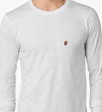 Kanye Face Pattern Design Long Sleeve T-Shirt