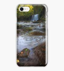 Sgwd Ddwli Uchaf waterfalls South Wales iPhone Case/Skin