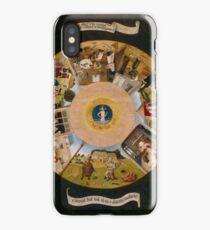 The Seven Deadly Sins Hieronymus Bosch iPhone Case/Skin
