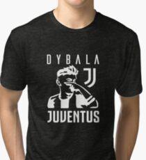 Dybala mask - white Tri-blend T-Shirt