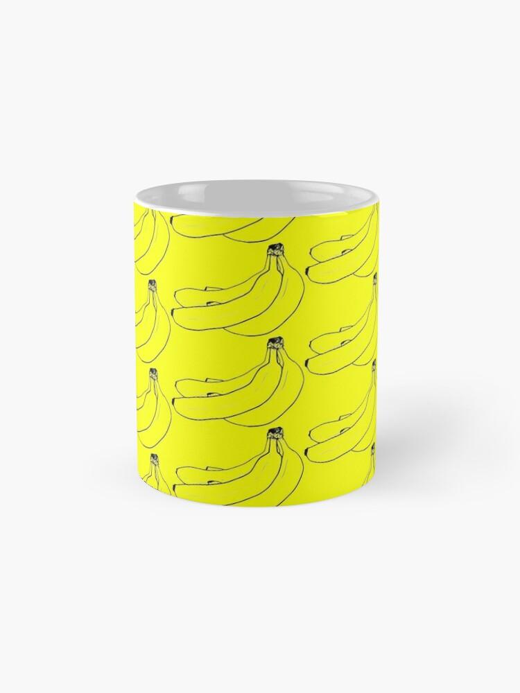 Alternative Ansicht von Bananen Zeug Tassen
