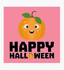 Happy Halloween Pumpkin Rs1ue Photographic Print