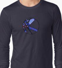 Strange Segments - 80's Panel Burst Long Sleeve T-Shirt