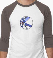 Strange Segments - 80's Panel Burst Men's Baseball ¾ T-Shirt