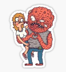 Monsterinlove Sticker
