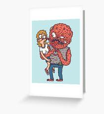 Monsterinlove Greeting Card