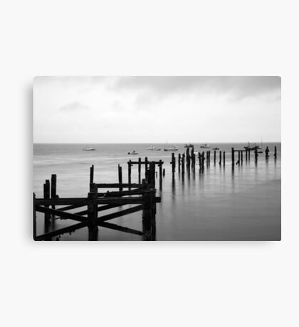 Swanage old Pier Canvas Print