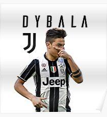 Dybala mask - juve Poster
