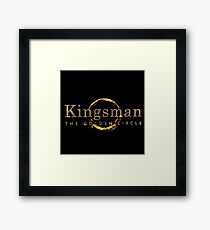 Kingsman The Golden Circle 2017 Framed Print