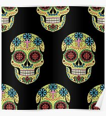 Mexican Day of the Dead. Santa Muerte Poster