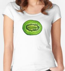 Green Kiwi Women's Fitted Scoop T-Shirt
