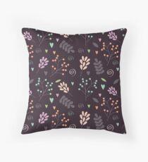 Cute floral Design Throw Pillow