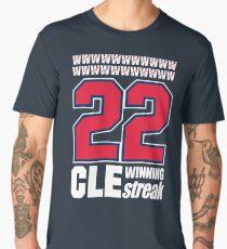 CLEVELAND STREAKING HISTORY WIN STREAK T-SHIRT Men's Premium T-Shirt