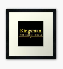 Kingsman The Golden Circle The Movie Framed Print