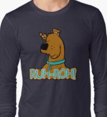 Ruh-Roh! Scooby Doo Long Sleeve T-Shirt